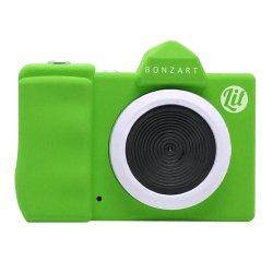 トイカメラ<br>BONZART Lit+ グリーン<br>30万画素
