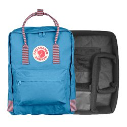 カメラバッグ<br>Kanken Photo Insert + Kanken バッグ<br>AIR BLUE STRIPED<br>FJALL RAVEN