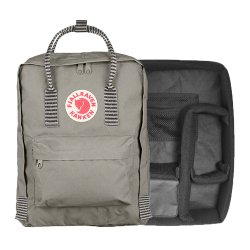 カメラバッグ<br>Kanken Photo Insert + Kanken バッグ<br>FOG STRIPED<br>FJALL RAVEN