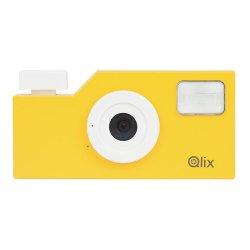 トイカメラ<br>Qlix CAMERA サンライズイエロー<br>630万画素