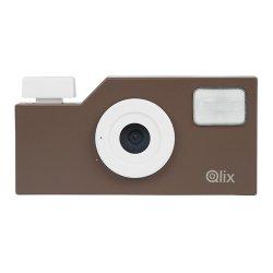 トイカメラ<br>Qlix CAMERA ディープブラウン<br>630万画素