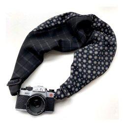 ストラップ<br>Sakura Camera Sling<br>チェック&ドット Mサイズ / Lサイズ
