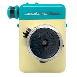 インスタントカメラ<br>Escura instant 60's ブルー<br>手回しチェキfilm用カメラ
