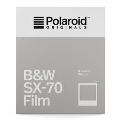 ポラロイドフィルム<br>B&W Film for SX-70<br>Polaroid Originals