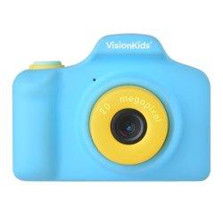 トイカメラ<br>VisionKids HappiCAMU PLUS<br>ブルー 2000万画素