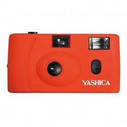 フィルムカメラ<br>YASHICA MF-1<br>オレンジ