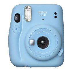 インスタントカメラ<br>チェキ instax mini 11<br>スカイブルー