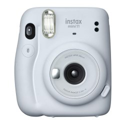 インスタントカメラ<br>チェキ instax mini 11<br>アイスホワイト