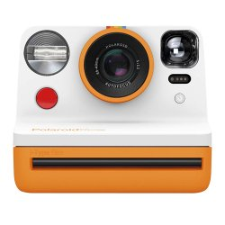 インスタントカメラ<br>Polaroid Now<br>オレンジ