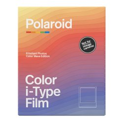 ポラロイドフィルム<br>Polaroid Color i-Type Film<br>Color Wave Edition