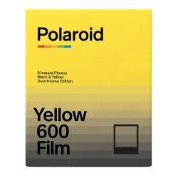 ポラロイドフィルム<br>Polaroid Yellow 600 Film<br>Duochrome Edition