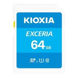 KIOXIA SDXCカード<br>64GB 100MB/s UHS-I