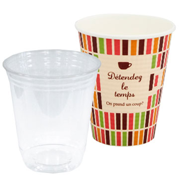 環境にやさしいエコなバイオマスプラカップ