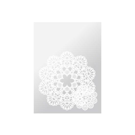 OPPパック レースペーパー 150×230 ホワイト 100枚入