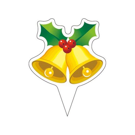 ピック D-0529 メリークリスマス(ベル) 200枚入