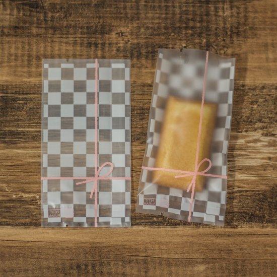 バリア袋市松リボン 70×135 100枚入