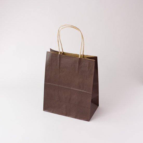 自動紐手提袋 T-2 カカオ 25枚入