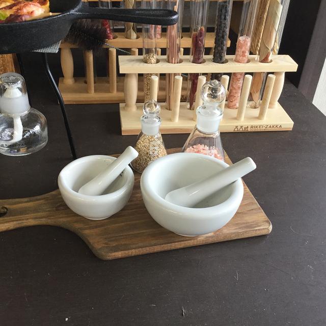乳鉢  中小セット(乳棒付き)