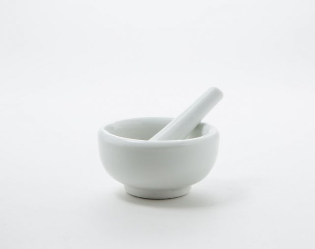 乳鉢  中 90mm(乳棒付き)