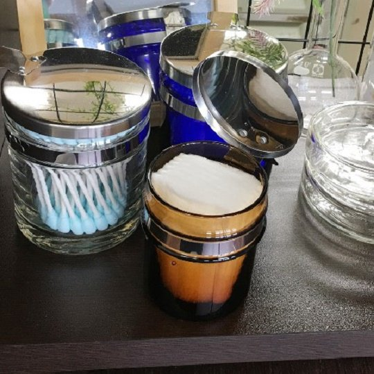 万能つぼ  小  (茶)