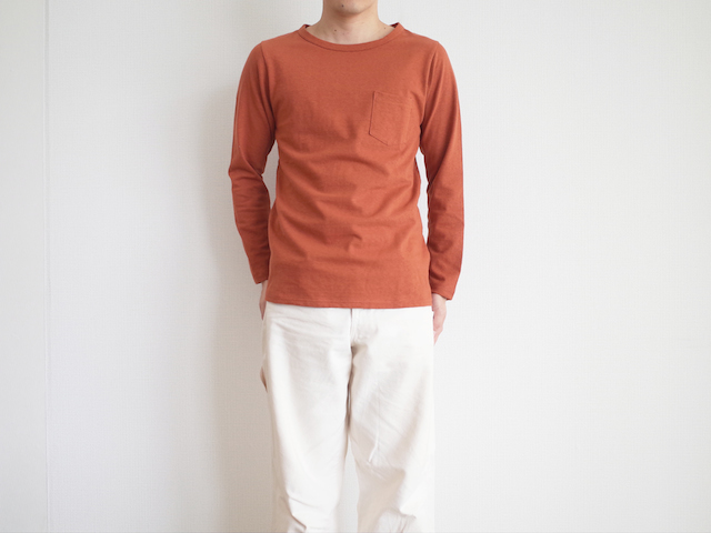 HUE Long Sleeve Crew Neck Tee Red