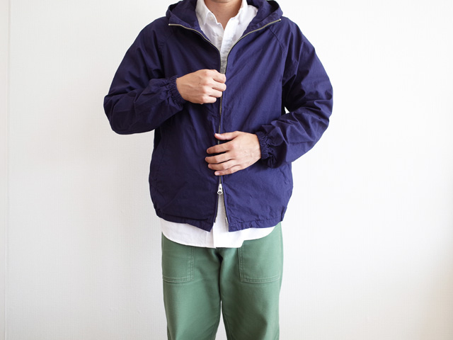 Ordinary fits Swing Parka Navy