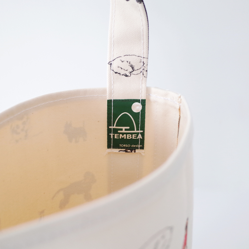 TEMBEA テンベア Baguette Tote Small DOG 犬柄