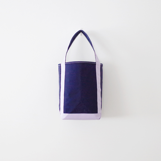 TEMBEA テンベア Baguette Tote Small Navy / Lavender