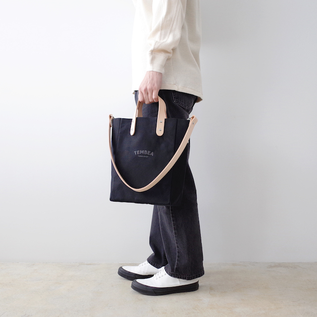TEMBEA テンベア Club Tote XS Logo Black
