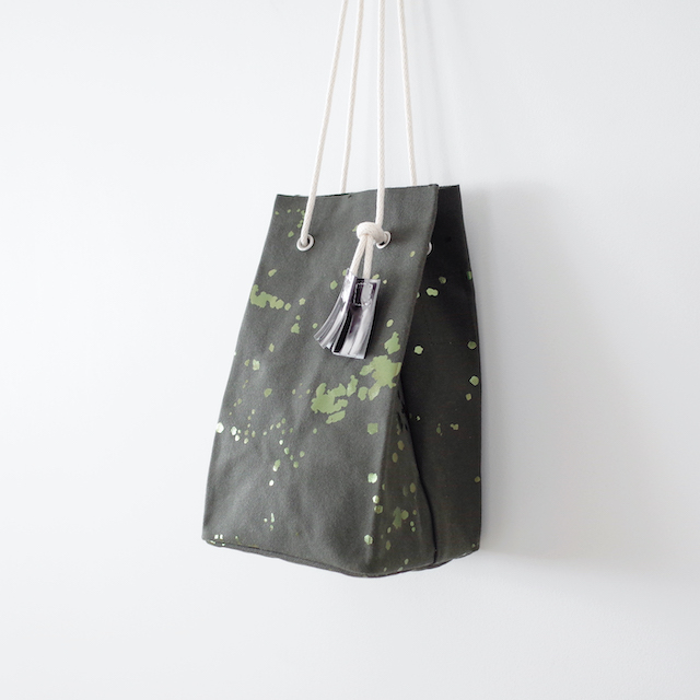 TEMBEA テンベア Game Pouch - Olive / 箔Olive