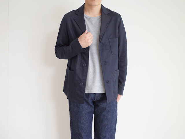 Yarmo Drivers Jacket Navy