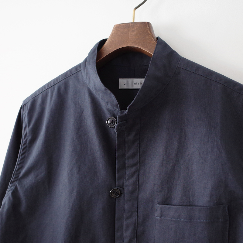 nisica ニシカ ループシャツ Navy