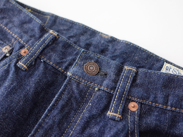 orSlow 107 Ivy Slim Fit Jeans One Wash レディース