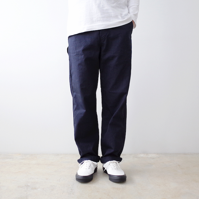 orSlow オアスロウ French Work Pants Navy