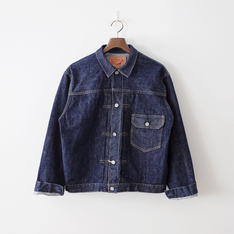 orSlow オアスロウ Pleated Front Blouse One Wash
