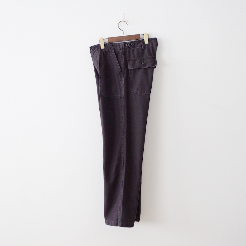 orSlow オアスロウ US Army Fatigue Pants Black Stone