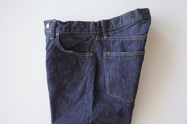 orSlow 105 Standard Denim One Wash