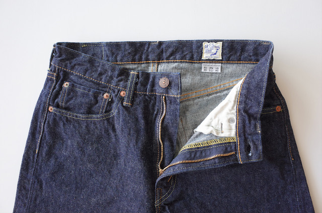 orSlow 107 Ivy Fit Jeans One Wash