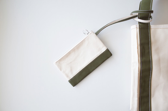 TEMBEA Envelope Small Natural / Olive