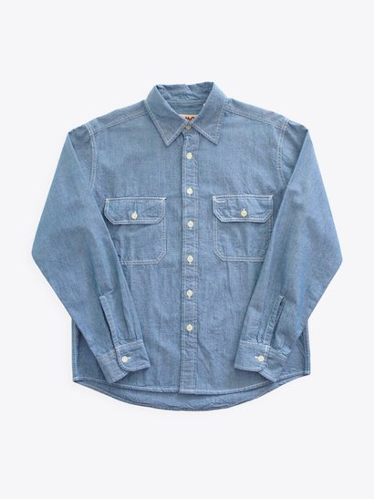 CAMCO Chambray Shirt - Blue