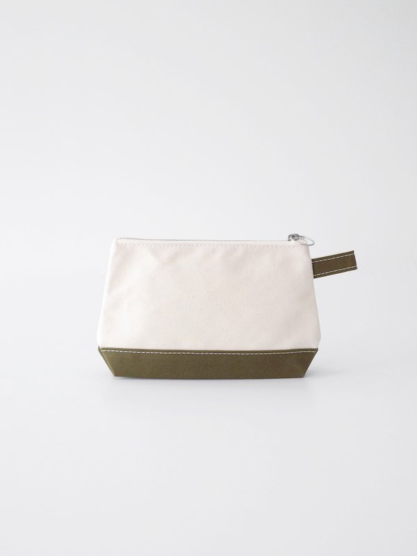 TEMBEA Toiletry Bag - Natural / Olive