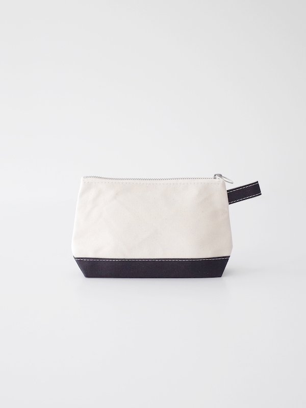 TEMBEA Toiletry Bag - Natural / Black