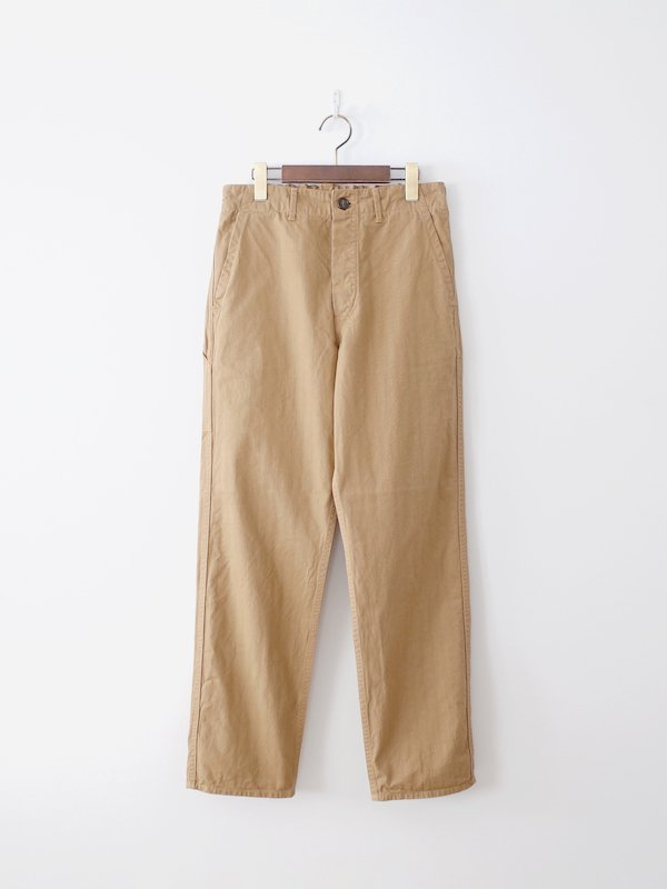 orSlow French Work Pants - Khaki