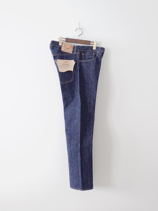 orSlow 105 Standard Denim - One Wash