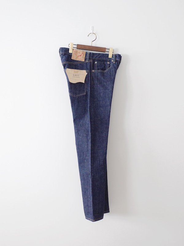 orSlow 107 Ivy (Slim) Fit Jeans - One Wash