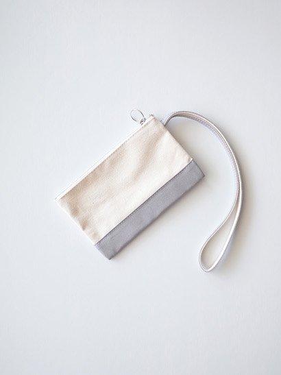 TEMBEA Envelope Small - Natural / Gray