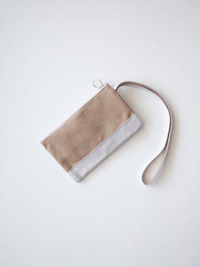 TEMBEA Envelope Small - Beige / Lt Gray