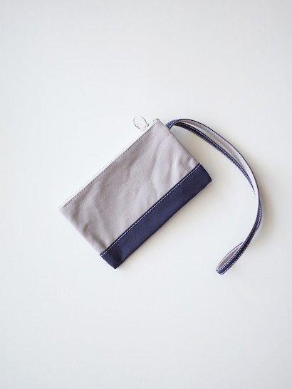 TEMBEA Envelope Small - Gray / Dk Navy