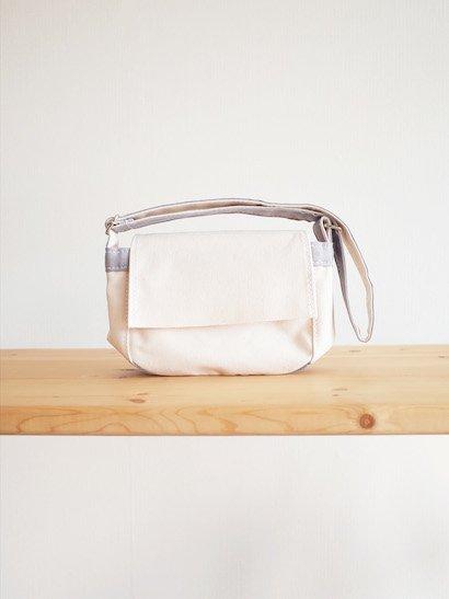 TEMBEA Toy Bag - Natural / Gray