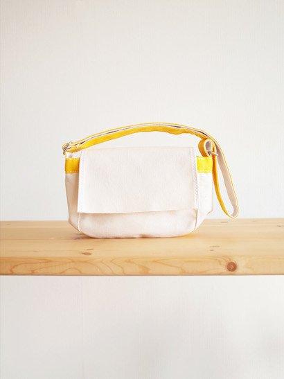 TEMBEA Toy Bag - Natural / Dk Yellow